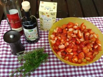 Erdbeerchutney Zutaten