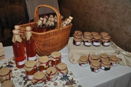 Sirup und Marmeladen