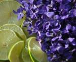 Veilchen und Limetten